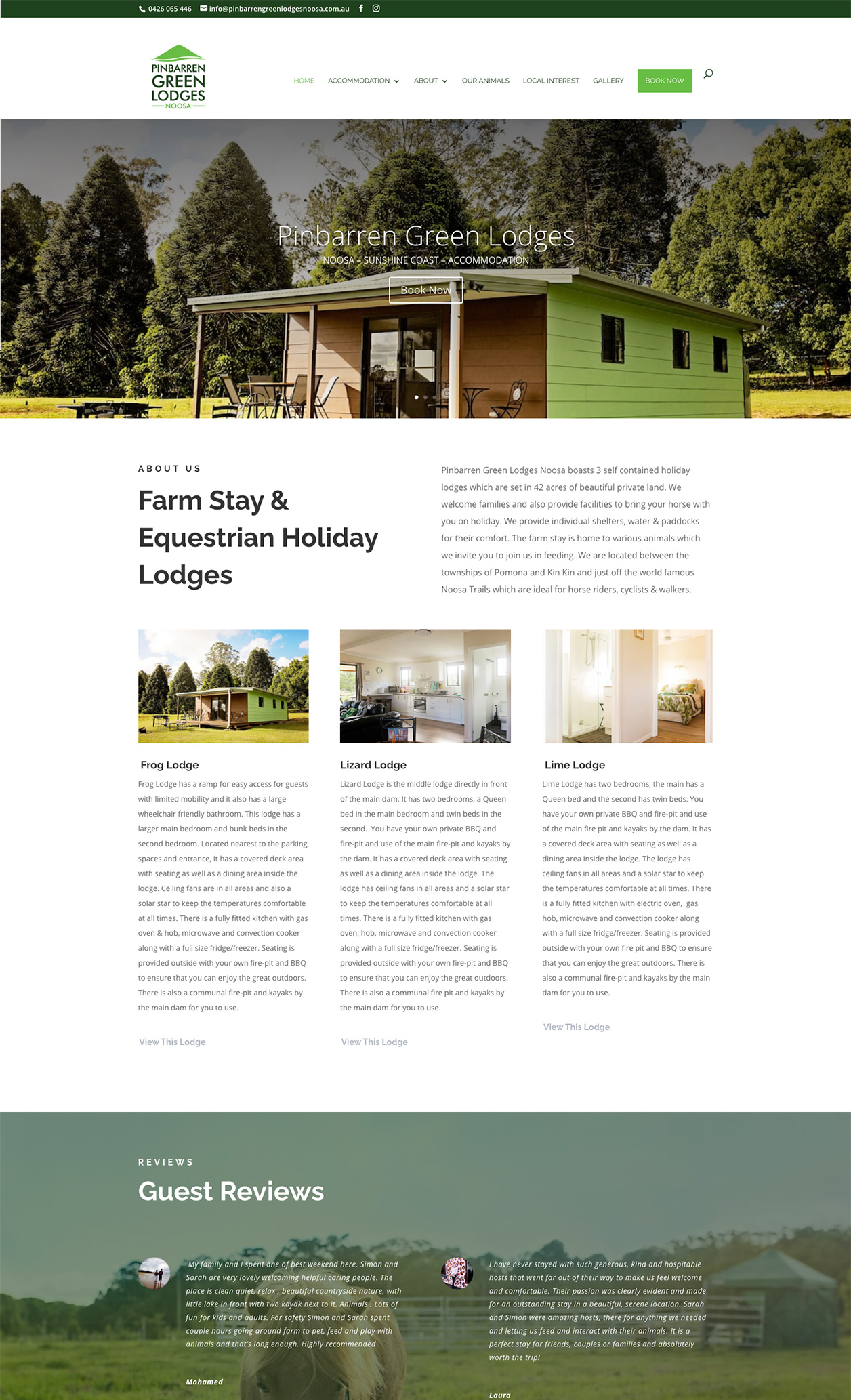 Pinbarren Green Lodges Noosa
